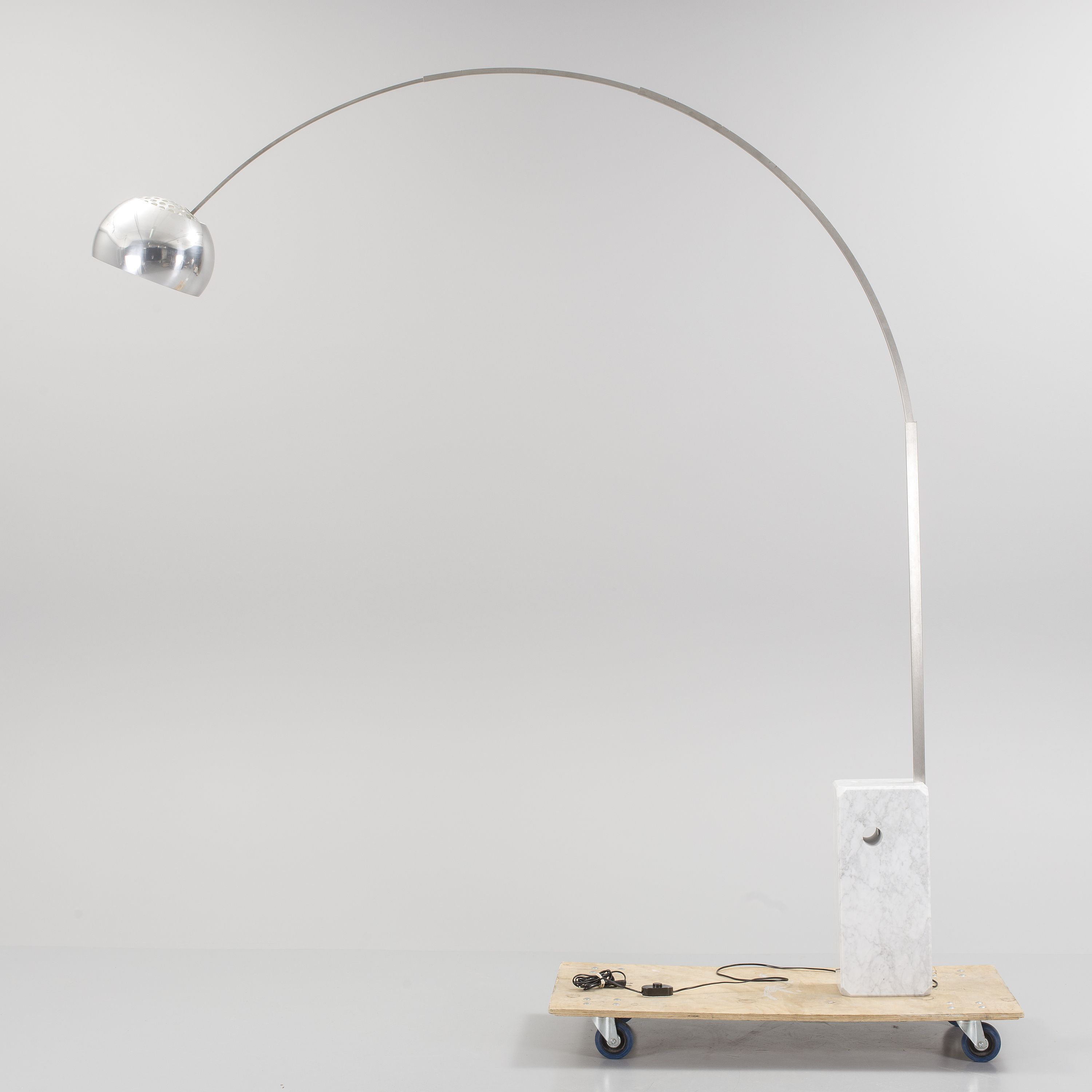 Achille castiglioni an arco floor lamp by flos italy bukowskis 10106723 bukobject mozeypictures Choice Image