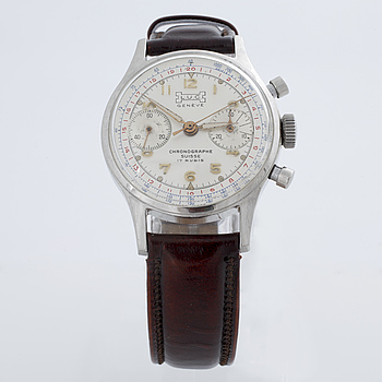 L.U.C. (Louis Ulysse Chopard), wristwatch 35 mm, kronograf.