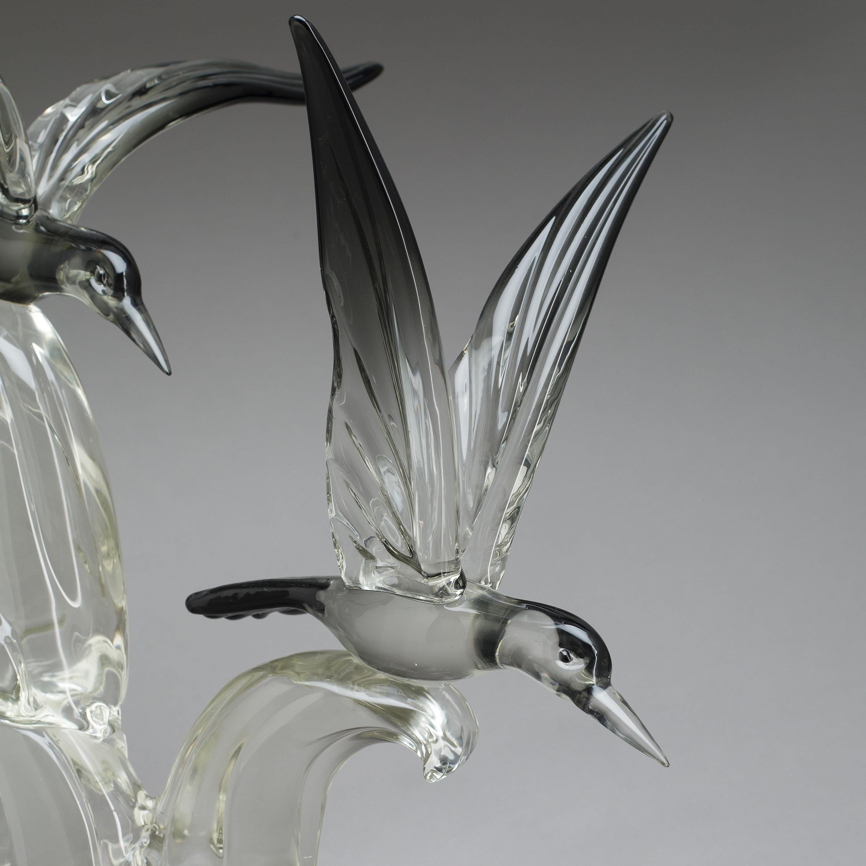 Skulptur Glas A Da Ros Cenedese Murano 1965 70 Bukowskis