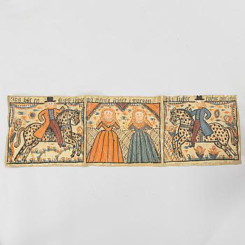 BONAD, målad på papper, troligen Sunnebo, 1800-talets första hälft.