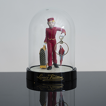 """A Louis Vuitton """"Le Groom"""", paperweight."""
