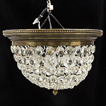A first half of the 1900s ceiling light.