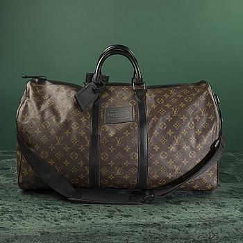 LOUIS VUITTON, A Louis Vuitton waterproof weekend bag.