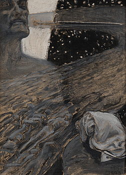 """AKSELI GALLEN-KALLELA, AKSELI GALLEN-KALLELA, """"RIVER OF THE DEAD""""."""