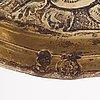 A german late 16th/early 17th century silver-gilt nef, mark of heinrich winterstein, augsburg (1585-1634).