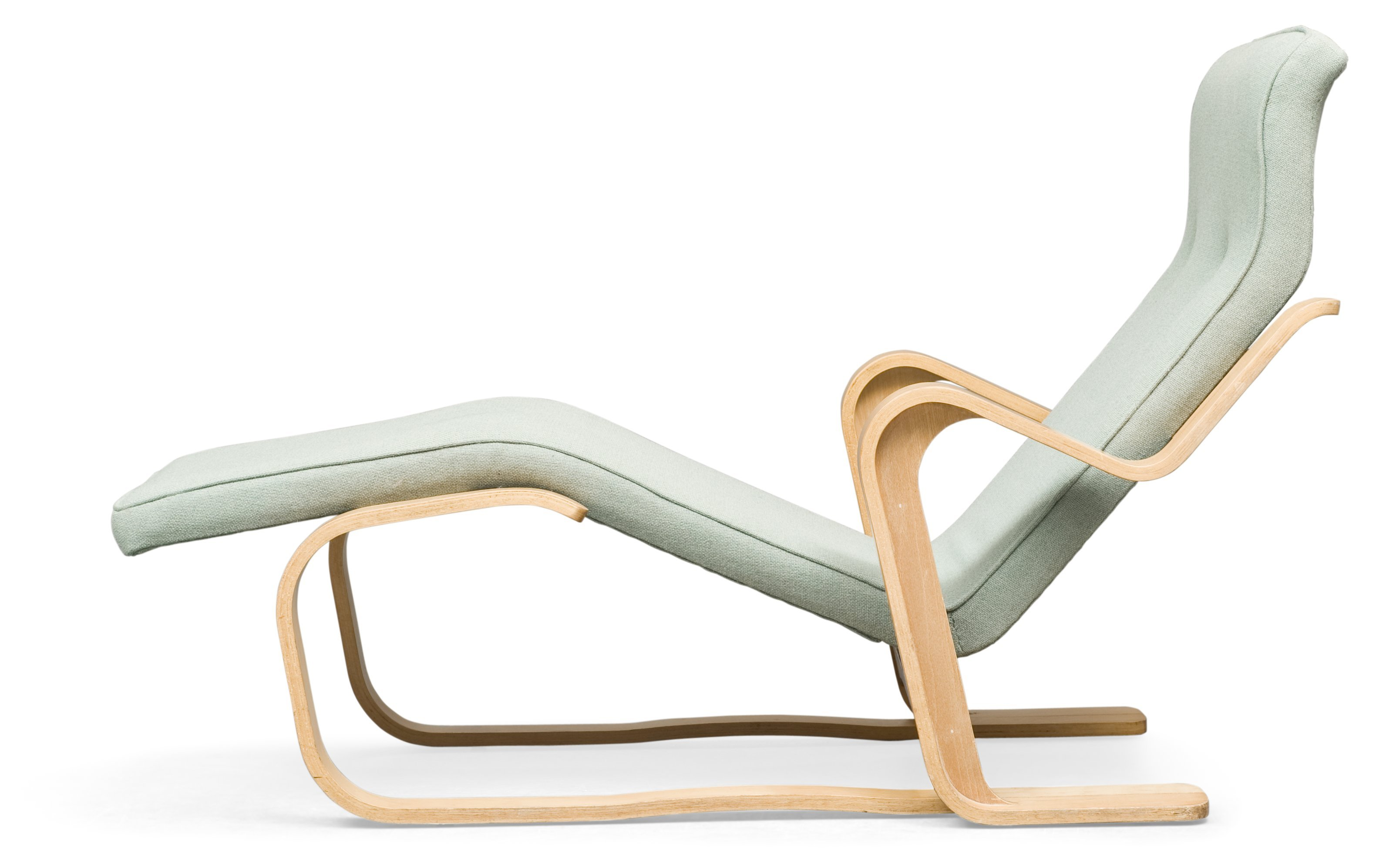 A Marcel Breuer Lounge Chair for Isokon England Laminated beech