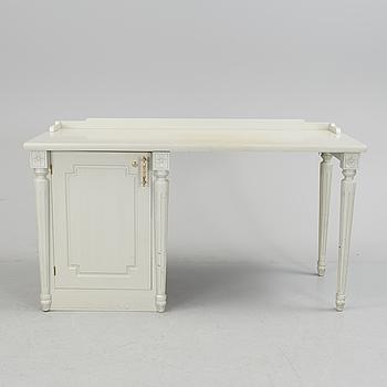 A Gustavian style desk from Åmells möbler, circa 2000.