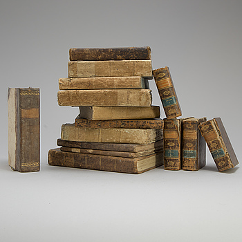 14 books, 19th century.