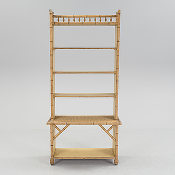 A colonial style bookshelf, early 20th century.