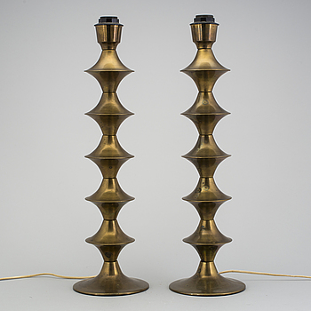 TABLE LAMPS , a couple, probably Elite , Denmark , 1970s .