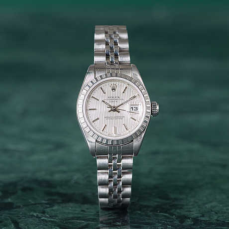 Rolex, oyster perpetual date, chronometer, armbandsur, 26 mm,