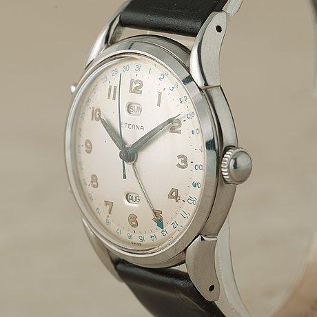 Eterna, armbandsur, 35,5 mm,