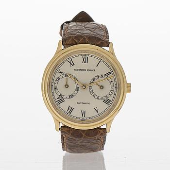 AUDEMARS PIGUET, Calender, wrist watch, 33 mm.