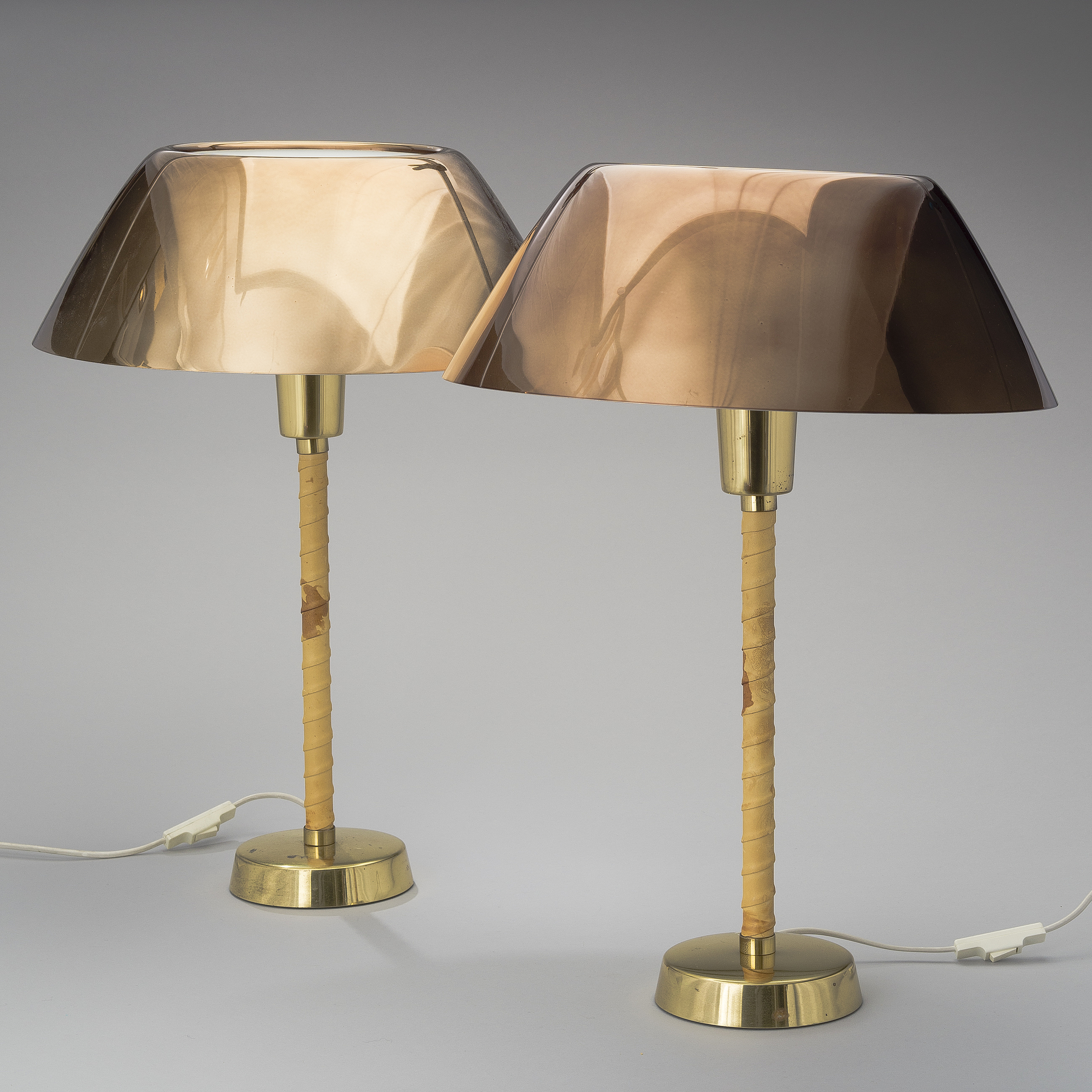 Set Of Two Table Lamps Lisa Johansson Pape Lisa Johansson Pape A Set Of Two Table Lamps