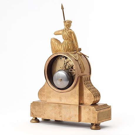 A french table clock first half of the 19th century.