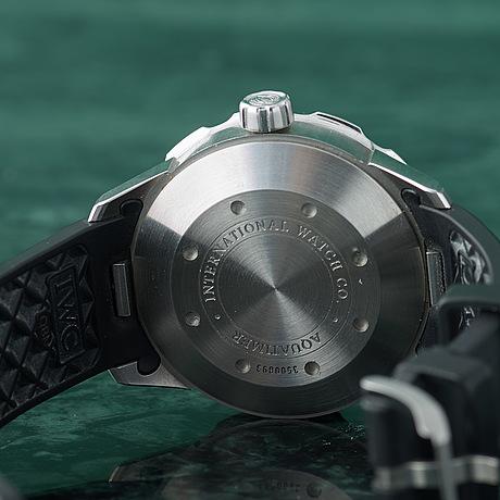 Iwc, schaffhausen, aquatimer (2000 meters), armbandsur, 44 mm,