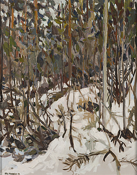 ARTO PENNANEN, ARTO PENNANEN, oil on canvas, laid on board, signed and dated -82.