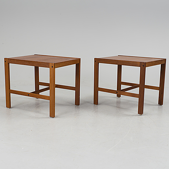 A set of bedside tables from the second half of the 20th century.