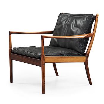 An Ib Kofod Larsen palisander 'Samsö' easy chair, OPE-möbler, Sweden 1960's.