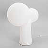 Eero aarnio, dubbelbubbla, lampa. formgiven 2001. tillverkad av melaja oy.
