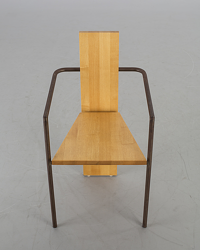 "Jonas bohlin, ""concrete"" stol, 1900-talets senare del."