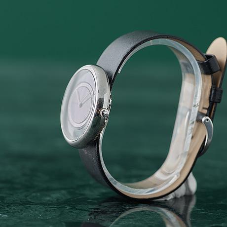 Georg jensen, vivianna oval large, armbandsur, 40,7 x 35 mm.