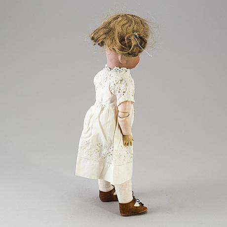 "A bisque head doll 101 ""marie"" by kämmer & reinhardt, ca 1909."