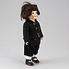 A bisque head doll 173 by hertel & schwab, germany, ca 1914.