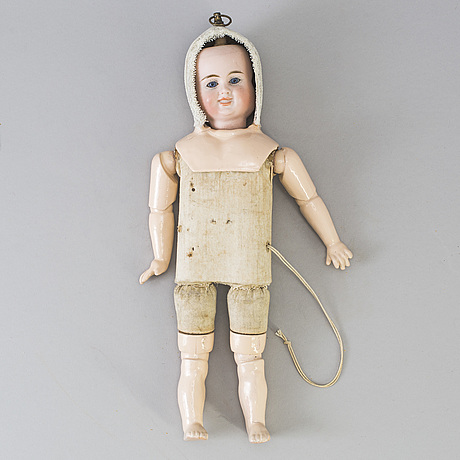 A bisque head multi face doll, germany, 1910s
