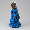 A bisque head fashion doll, probably france, late 19th century