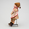 A bisque headed boy doll 235 by s.f.b.j, paris, france, 1910s