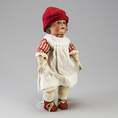 A bisque headed doll by kästner jdk 260, germany, 1916