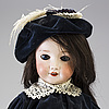 A bisque head doll by s.f.b.j, paris, france, 1910s
