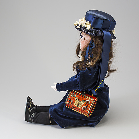 A bisque head doll, germany, 1910s