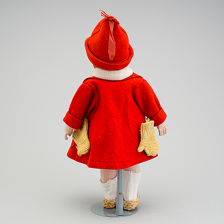 A käthe kruse girl doll, germany, ca 1930.