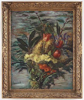ISAAC GRÜNEWALD, ISAAC GRÜNEWALD, signed Grünewald, oil on canvas..