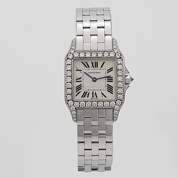 CARTIER, Santos Demoiselle, armbandsur, 26 mm,