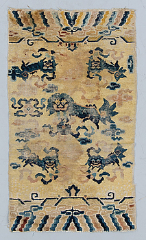 MATTA, antik Ningxia, Kina. 150 x 83 cm. Sen Qingdynasti (1644–1911).