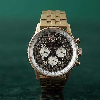 BREITLING, Navitimer, Cosmonaute II, chronograph, wristwatch, 41,5 mm,