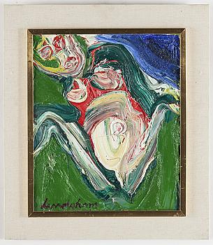 BENGT LINDSTRÖM, BENGT LINDSTRÖM, oil on canvas. Signed.