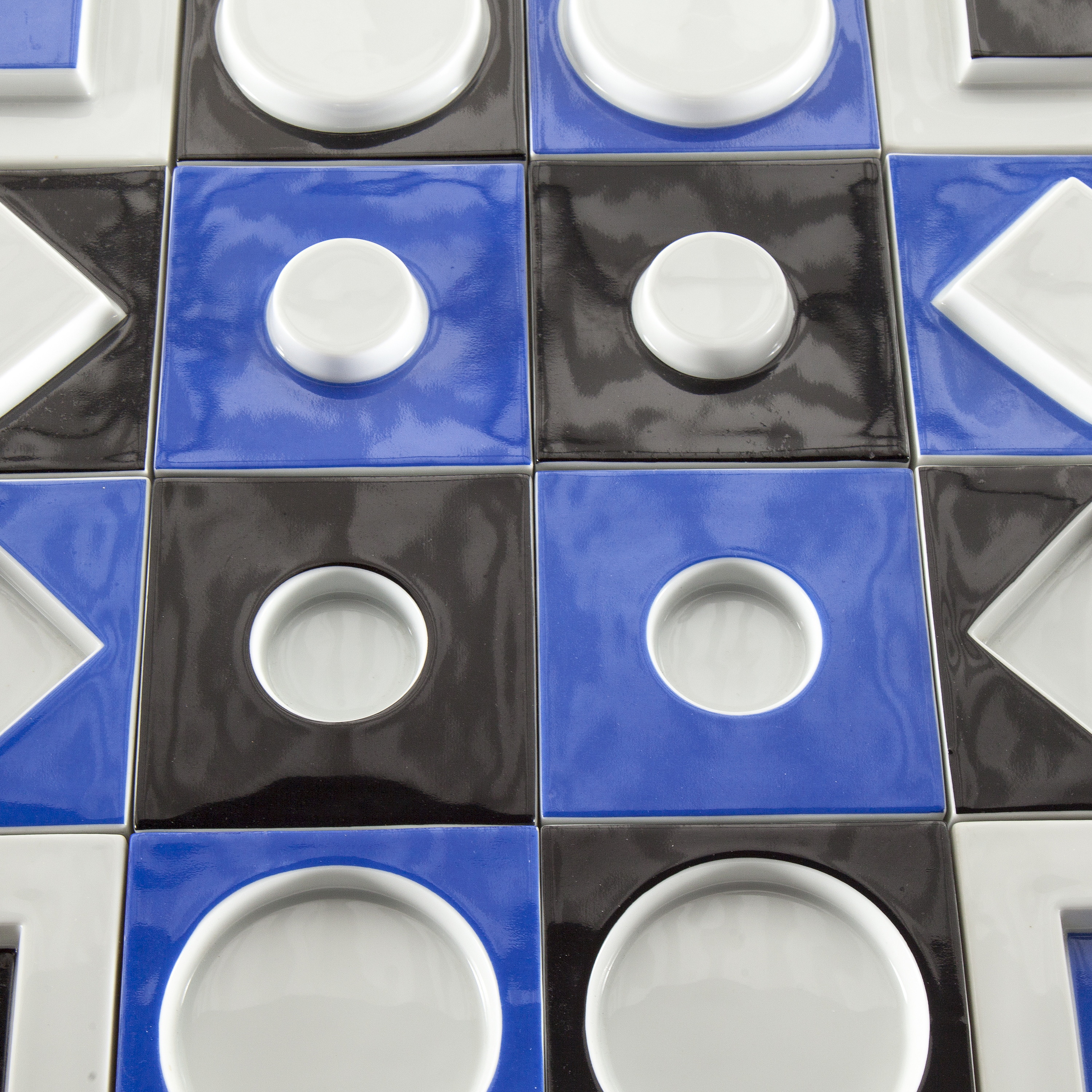A VICTOR VASARELY, porcelain relief for Rosenthal studio