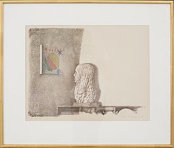 OLA BILLGREN, litografi, signerad och daterad -71.