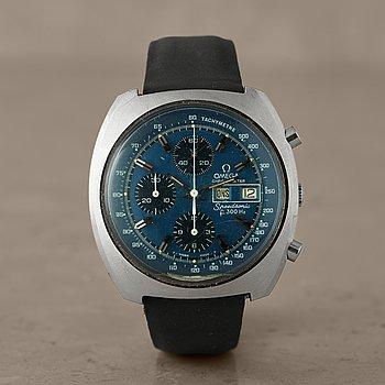 16. OMEGA, Speedsonic, Chronometer, Tachymetre, chronograph, wristwatch, 43 x 43 mm,