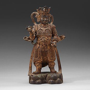 379. SKULPTUR, brons. Mingdynastin (1368-1644).