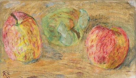 "Ragnar sandberg, ""apples""."