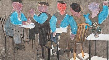 """5. RAGNAR SANDBERG, """"På restaurang""""."""