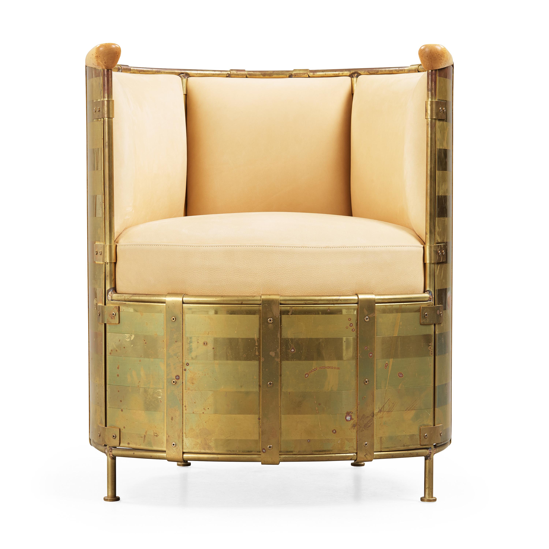 modern restaurant loungechair modernline by b brass back from gubi height chair gubivelvet product dining chairs lounge line en