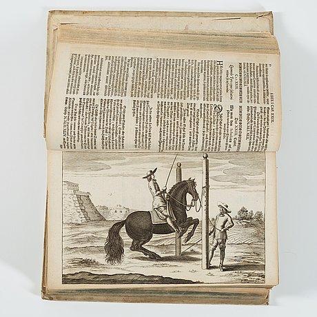 """Georg simon winter von adlersflÜgel, bellerophon, sive eques peritus.."""", nuremberg wolfgang moritz endter, 1678."""