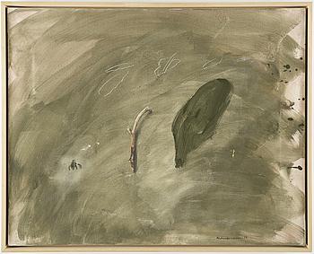 LENNART ASCHENBRENNER, olja på duk, signerad Aschenbrenner och daterad -90.
