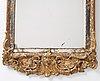 A swedish 18th century rococo mirror.